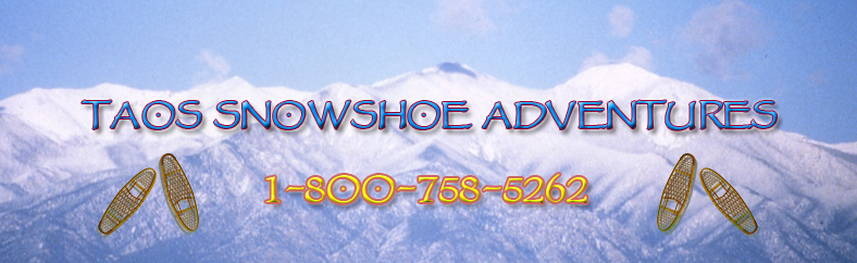 Snowshoe Tours in Taos New Mexico